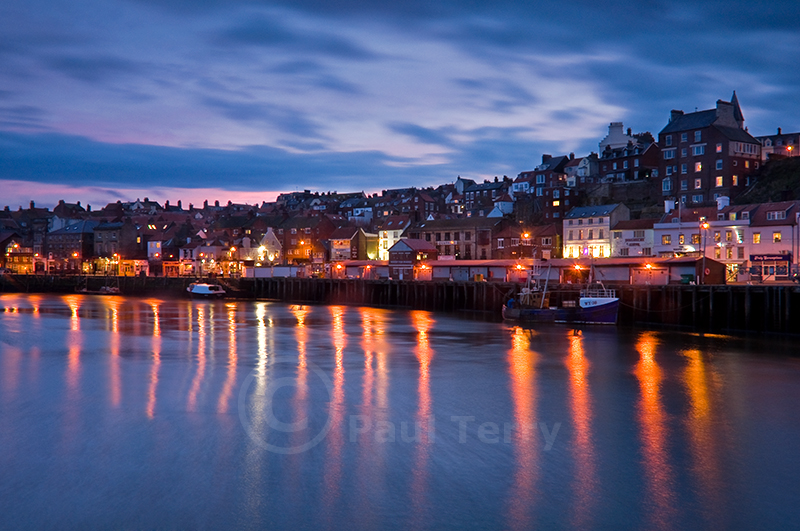 Whitby Harbour Lights