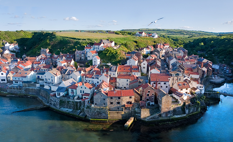Staithes from Cow Bar Nab