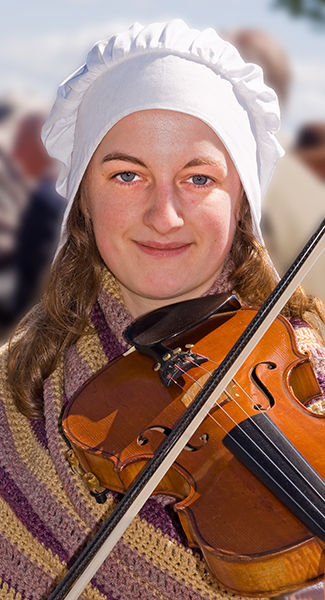 Violin girl_Beamish