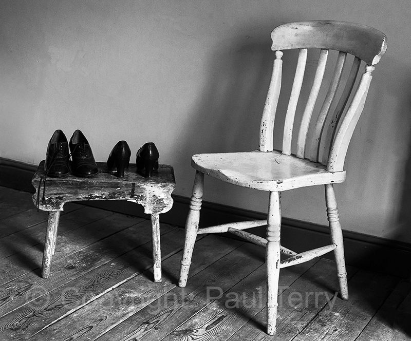 Footstool and chair_Beamish