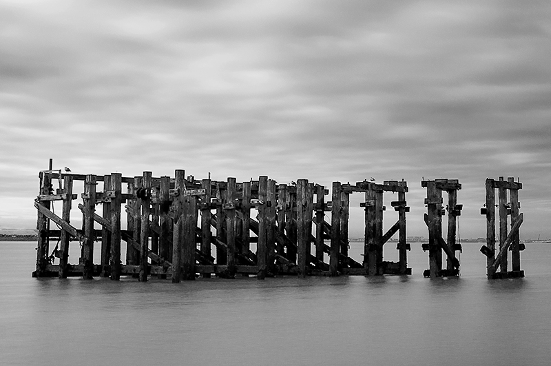 Abandoned jetty South Gare Redcar