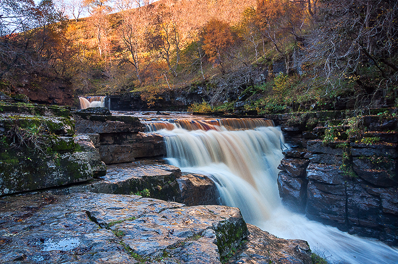 Kidson Upper and Lower Falls_Yorkshire Dales