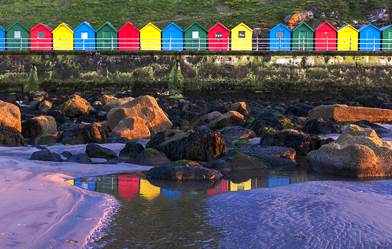 Whitby hut reflections