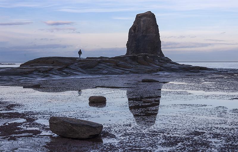 Saltwick Bay reflections