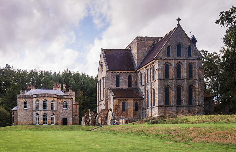 Brinkburn Abbey and Manor House, Northmberland