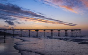 Saltburn Pier at Sunset_2