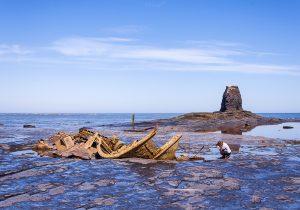 Wreck of Admiral Von Tromp, Saltwick Bay