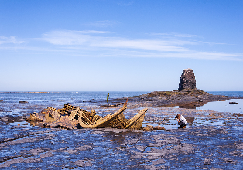 Wreck of Admiral Von Tromp, Saltwick Bay